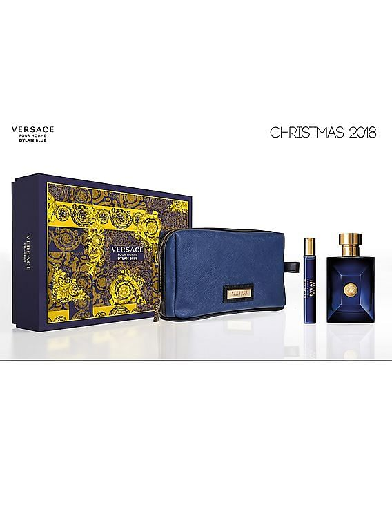 Buy Men Dylan Blue Pour Homme Gift Set online at NNNOW.com 0fe1abdb166c5