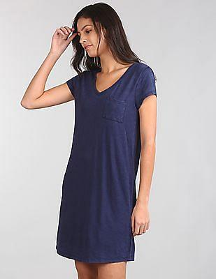 GAP Short Sleeve Pocket T-Shirt Dress