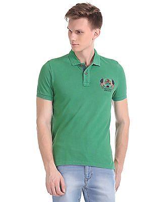 U.S. Polo Assn. Denim Co. Solid Pique Polo Shirt