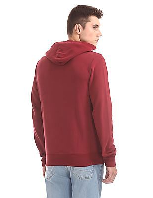 Aeropostale Hooded Solid Sweatshirt