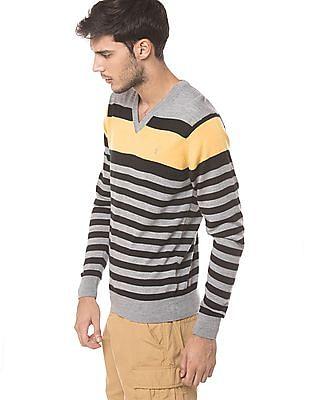 Izod Slim Fit Striped Sweater