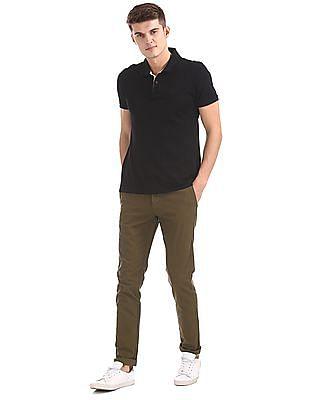 U.S. Polo Assn. Austin Fit Flat Front Trousers