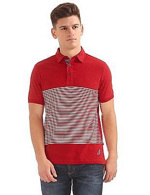 Nautica Short Sleeve Slub Polo