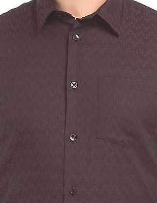Arrow Newyork Two Tone Check Shirt
