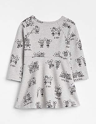 GAP Baby Disney Minnie Mouse and Mickey Mouse Dress