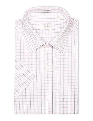 Arrow Short Sleeve Check Shirt