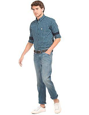 U.S. Polo Assn. Regular Fit Tartan Plaid Shirt
