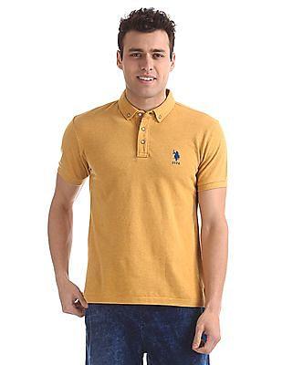 U.S. Polo Assn. Standard Fit Short Sleeve Polo Shirt