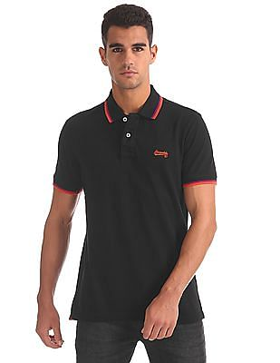 Aeropostale Regular Fit Solid Polo Shirt