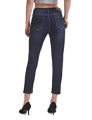 Flying Machine Women Mid Rise Skinny Fit Jeans