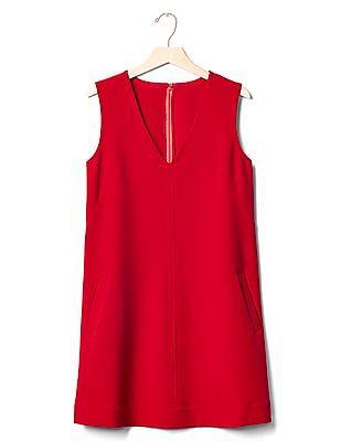 GAP V-Neck Shift Dress