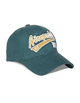 Aeropostale Applique-Front Peak Cap