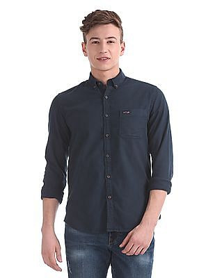 U.S. Polo Assn. Denim Co. Slim Fit Oxford Shirt