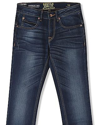Nautica Tapered Fit Stone Wash Jeans
