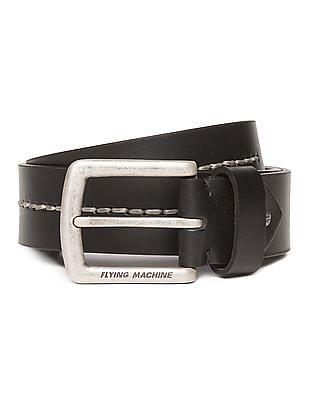 Flying Machine Rivet Leather Belt