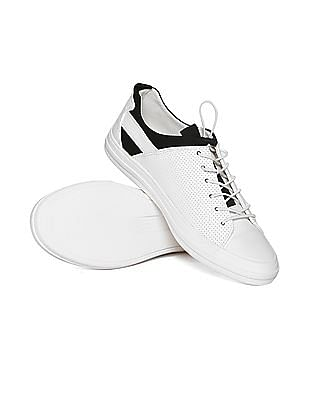 Aeropostale Perforated Lace Up Sneakers