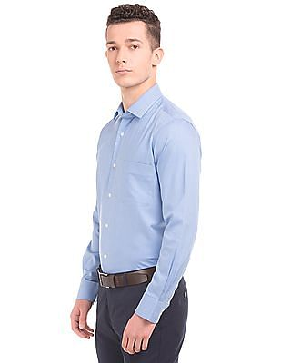 Arrow French Placket Puppytooth Shirt