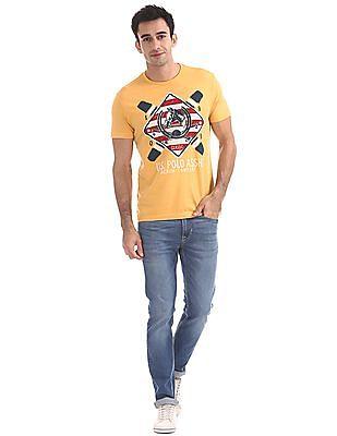 U.S. Polo Assn. Denim Co. Brand Print Crew Neck T-Shirt