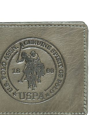 U.S. Polo Assn. Burnished Leather Wallet