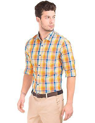 Colt Madras Check Cotton Shirt