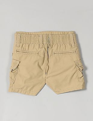 GAP Baby Beige Solid Beachcomber Shorts