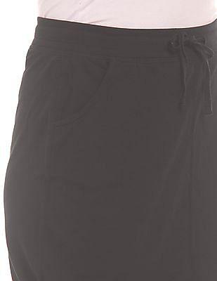 SUGR Drawstring Waist Pencil Skirt