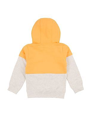 Cherokee Girls Colour Block Hooded Sweatshirt