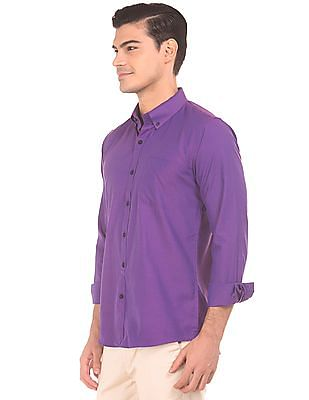 Excalibur Button Down Slim Fit Shirt