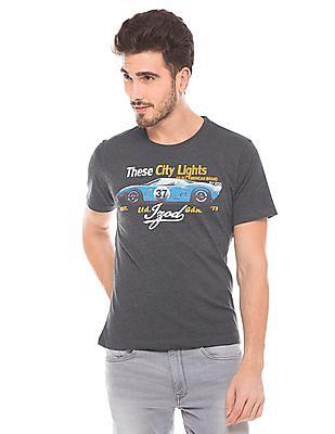 Izod Slim Fit  Round Neck T-Shirt