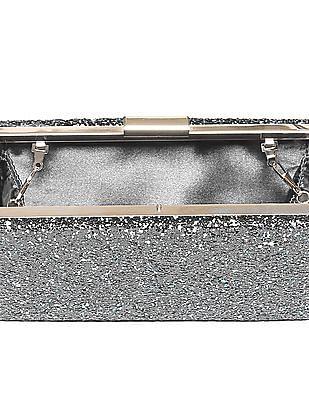 Stride Glitter Box Clutch