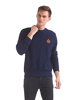 U.S. Polo Assn. Crew Neck Solid Sweatshirt