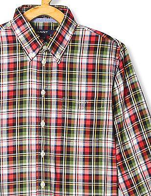 Gant Boys Ranger Check Shirt
