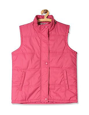 Cherokee Detachable Hood Gilet Jacket