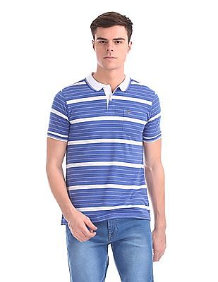 Ruggers Striped Jersey Polo Shirt