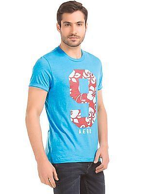 Aeropostale Numeric Print T-Shirt