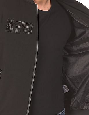 Arrow Newyork Stand Neck Bomber Jacket