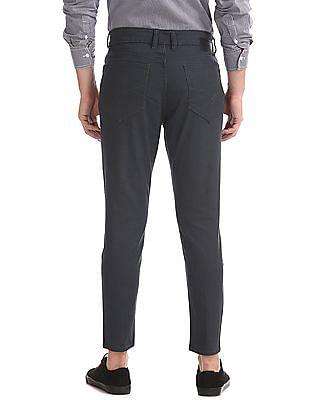 Flying Machine Grey Mankle Slim Fit Rinsed Jeans