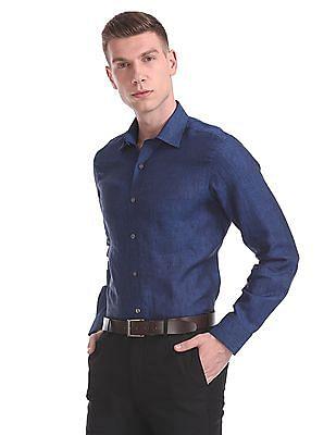 Arrow Regular Fit Heathered Shirt
