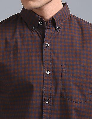 GAP Pattern Poplin Shirt In Stretch