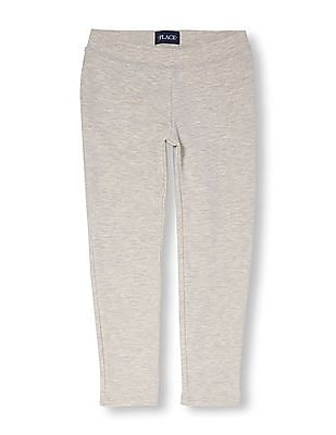 The Children's Place Girls Solid Cozy Leggings