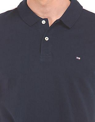 Arrow Sports Colour Block Pique Polo Shirt