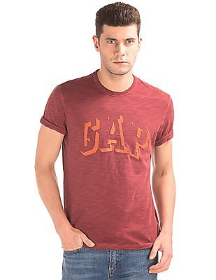 GAP Flock Print Slubbed T-Shirt