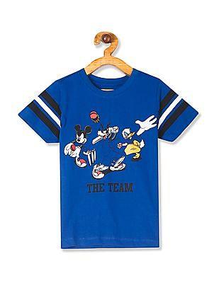 Colt Blue Boys Crew Neck Disney Graphic T-Shirt