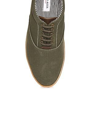 U.S. Polo Assn. Panelled Canvas Sneakers