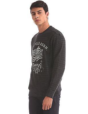 U.S. Polo Assn. Denim Co. Regular Fit Printed Sweatshirt