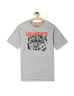 Colt Round Neck Graphic T-Shirt