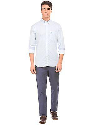 U.S. Polo Assn. Regular Fit Geometric Print Shirt