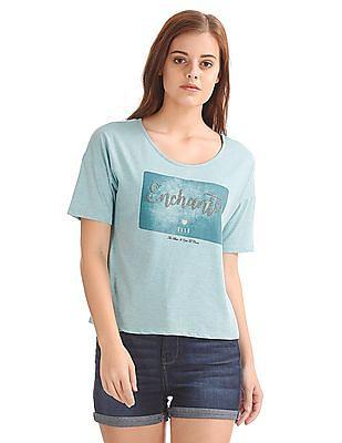 Elle Embellished Boxy T-Shirt