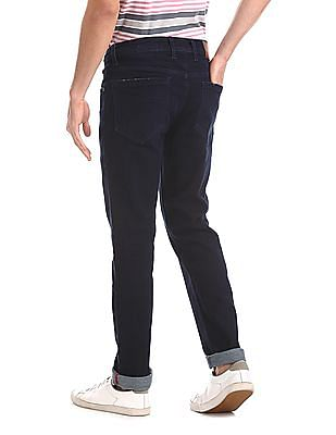 Cherokee Blue Slim Fit Dark Wash Jeans