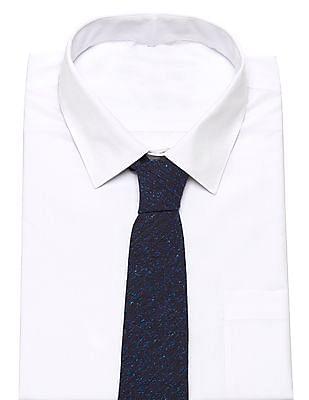 Gant Donegal Blue Tweed-Pattern tie